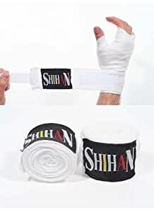 Boxing Handwraps Cotton with Velcro- NEW (Kickboxing Thai Boxing Hand Wraps Hand Protection)