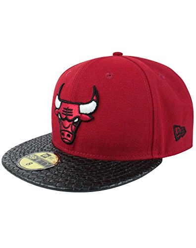 Unisex-Adulte - New Era - Chicago Bulls - Chapeau (7 1/8)