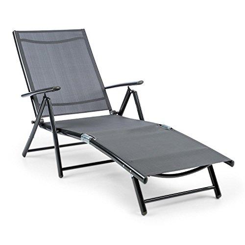 blumfeldt Modena • Gartenliege • Sonnenliege • Liegestuhl • Relaxliege • ergonomische Form...