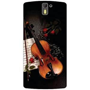 Oneplus One A0001 Back Cover - Powerful Music Designer Cases