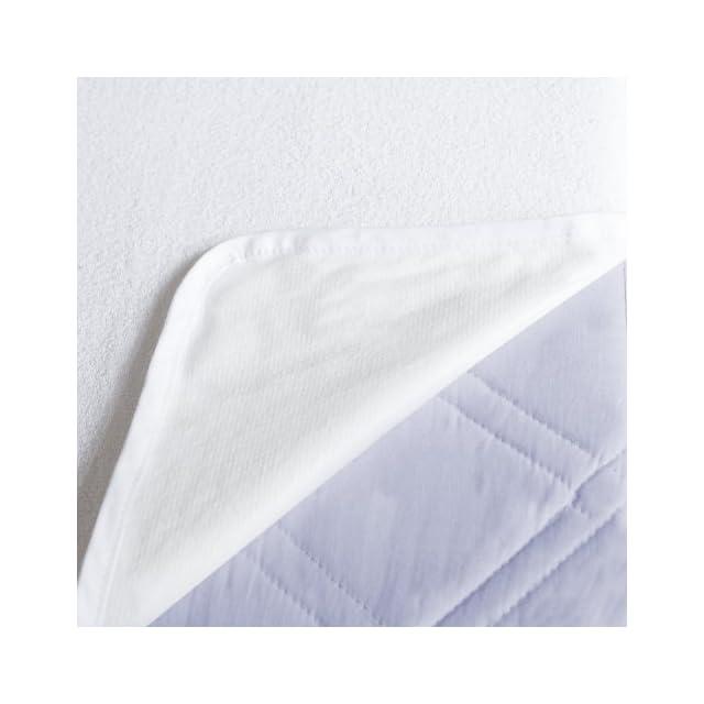 Lumaland alèse protège-matelas imperméable dans différentes tailles 90x200 cm