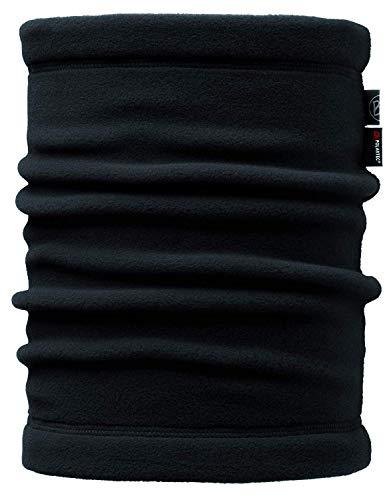Buff Erwachsene Multifunktionstuch Polar Neckwarmer, Solid Black, One Size