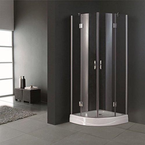 duschwand halbrund Tür Dusche halbrund esquinal 80x 80cm