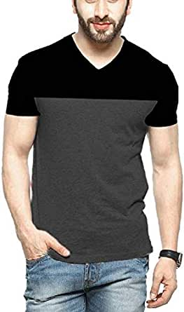 STYLENSE Veirdo Men's Cotton T-Shirt (Grey, Small)