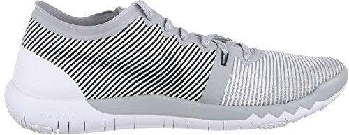 Nike  Free Trainer 3.0 V4, Chaussures de sport homme gris / blanc / noir (Wolf Grey / White-Black)