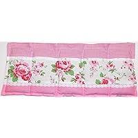 Körnerkissen Wärmekissen Rosali Landhaus Rosen geeignet für die Wärme sowie Kältetherapie und vieles mehr. 5 Kammern 50x20cm Getreidekissen