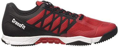 Reebok Crossfit Speed Tr, Sneaker a Collo Basso Uomo Rosso (Rosso (Excellent Red/Black/White/Pewter))