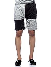Demokrazy men's Grey black Shorts