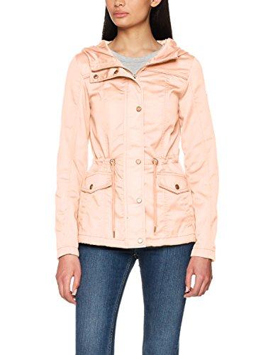 ONLY Damen Onlnew Kate Spring Parka Jacket Otw Noos, Rosa (Cameo Rose Cameo Rose), 38 (Herstellergröße: M)