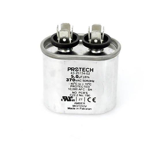 Ruud 43-20847-03 Ovaler Ersatz-Kondensator, 5 UF/MFD, 370 Volt, von OEM Replm für Ruud