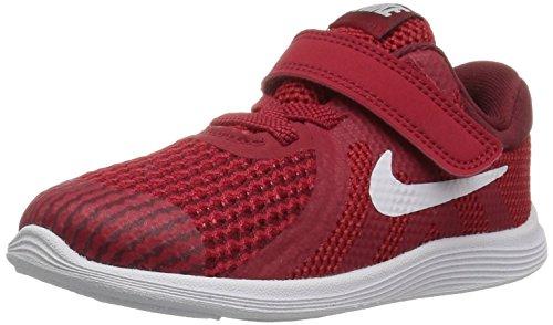 Nike Unisex Baby Revolution 4 (TDV) Hausschuhe, Rot (Gym Red/White-Team R 601), 19.5 EU
