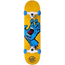 Santa Cruz Skateboard Complete Screaming Hand Regular - Skateboard, talla 7.7 x 31.2 Pulgadas