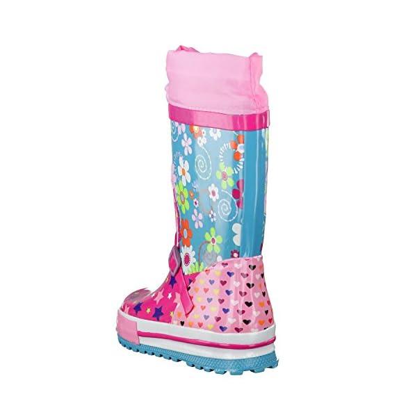 BECKStars Pink –Botas de goma para niña.