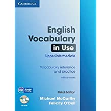 English Vocabulary in Use: Upper-intermediate: Book with answers and CD-ROM