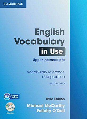 English Vocabulary in Use - Upper-intermediate (Third Edition). Book with answers and CD-ROM