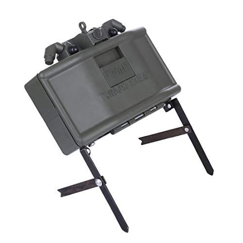 BOROK Infrarot-Induktion Remote Detonation Device Launcher Wasserbomben Claymore Landmine Ferndetonation Spielzeug Granaten Startprogramm Granatenwerfer für Nerf Gelball Spiel (Airsoft Mine)