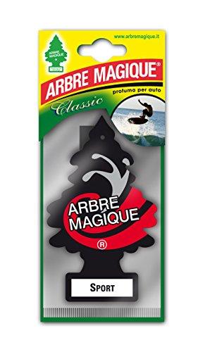 Arbre Magique Mono, Deodorante Auto, Fragranza Sport, Profumazione Prolungata fino a 7 Settim