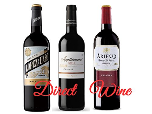 Lote Rioja Popular 3 X 75 Cl (arienzo, Azpilicueta, Lopez De Haro)