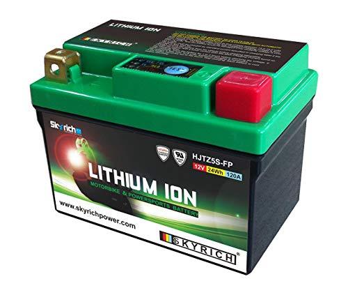 Ktm exc-sxf-mxc-250–350–400–450505525SX XC atc-50/90mongoose- batteria litio ltz5s skyrich 327106
