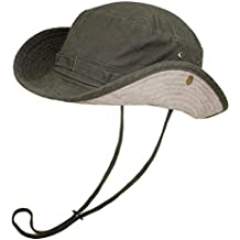 EveryHead Atlantis Cappello Da Safari Uomo All Aperto Leisure Di Estate  Pescatore Vacanza Con Nastro 0e54825526ef