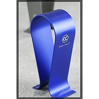CopperColour S4 Aluminiumlegierung Kopfhörer Ständer Kopfhörer-Ständer Halter für AKG Sennheiser Grado Sony großen Kopfhörern in Blue