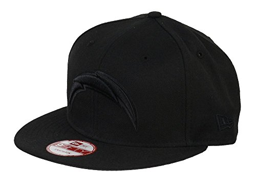 san-diego-chargers-new-era-9fifty-snapback-nfl-black-on-black