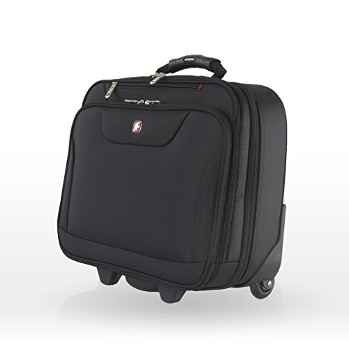 Best swiss gear bags in India 2020 Swiss Gear 10 Ltrs Black Softsided Briefcase (87732253) Image 4