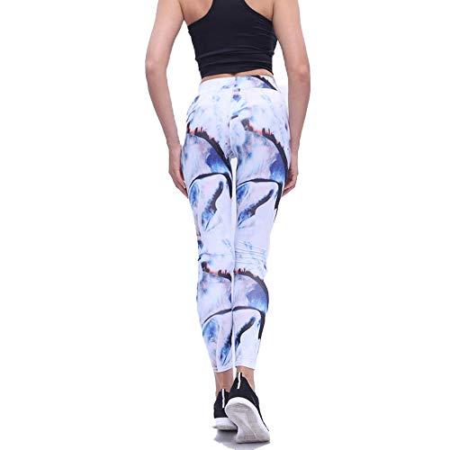 HaoLiao Leggings, Winter Goddess Slim Sports Casual Leggings, New Printed Sports Yoga Hosen Tight Fitness Leggings Women, Fitness, Stretching Sports Tights,S