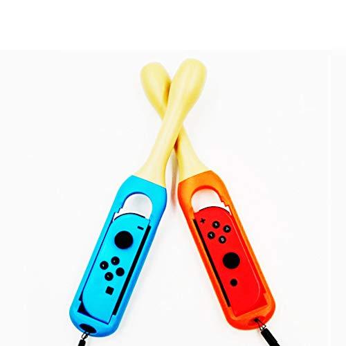 Timlatte 2ST / Set Drumstick für Nintendo Schalter für Joy-Con Zubehör für Nintendo Schalter Taiko Spiele (Nintendo Drums)