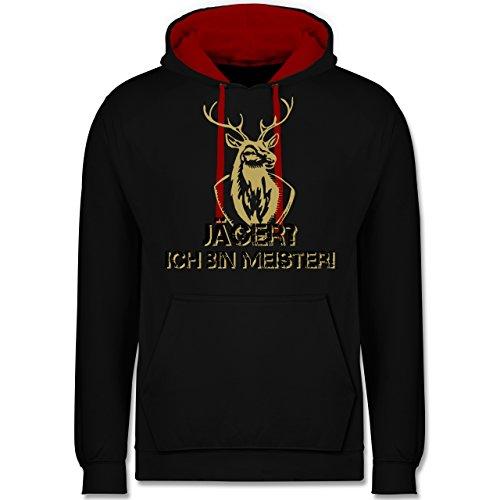 Après Ski - Jäger? Ich Bin Meister! - XXL - Schwarz/Rot - JH003 - Kontrast ()