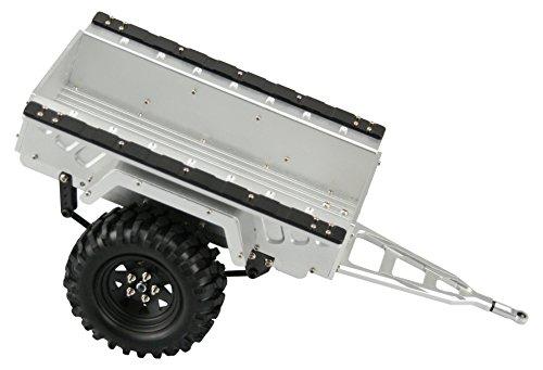 Preisvergleich Produktbild Amewi 22156 - AMXrock Anhänger, CNC Gefräst Fahrzeug