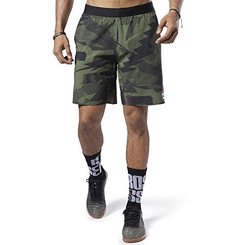 Reebok Herren Rc Speed Short Games Kurze Hose, grün (Canopy Green), M -