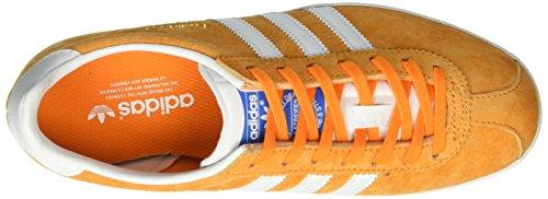 adidas Gazelle OG, Scarpe da Ginnastica Basse Unisex-Adulto Arancione (Bright Orange/Ftwr White/Bright Orange)