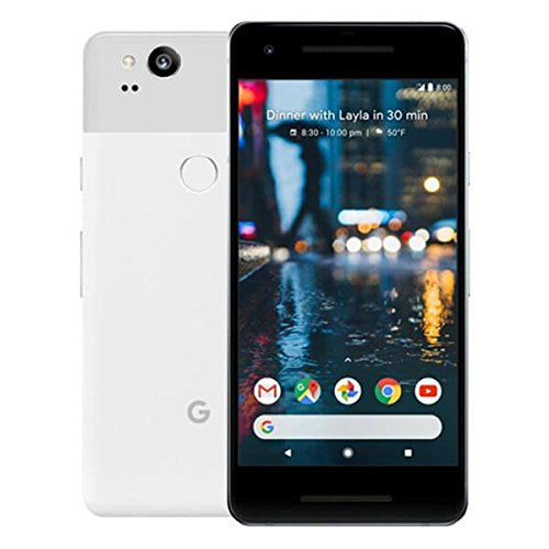 "Google Pixel 2 12,7 cm (5"") 4 GB 128 GB SIM singola 4G Nero, Bianco 2700 mAh"
