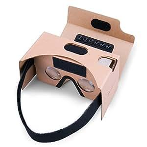 google cardboard virtual reality brille splaks mit elektronik. Black Bedroom Furniture Sets. Home Design Ideas
