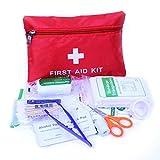 Fliyeong Botiquín de Primeros Auxilios: Compacto para emergencias en el hogar, Aire Libre,...