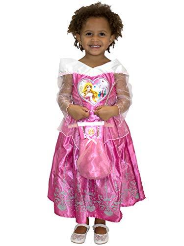 Disney Mädchen Dornröschen Aurora Kostüm Kleid und