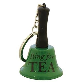 Mini Ring For Tea Keyring by dgp