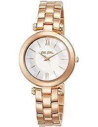 4da5048577a8  Folli Follie  follifollie Lady Burbuja cuarzo inoxidable Acero cinturón  reloj S (oro rosa