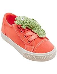 Chaussures De Sport Estamico Toile Enfants Haut-dessus, Eur29 Bleu