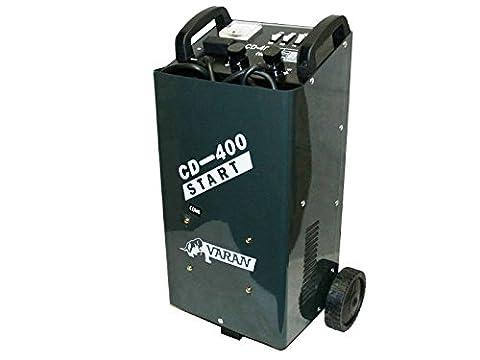 Varan Motors var-cd-400 PKW BATTERIELADEGERÄT BOOSTER LADER TRANSPORTABEL LADEGERÄT 12V/24V 20-700AH (Pkw Batterieladegerät)