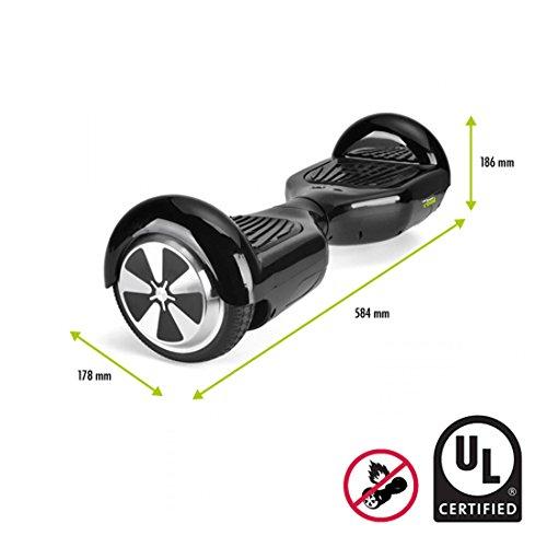 BEEPER R4-UL Hoverboard, Schwarz, M - 4
