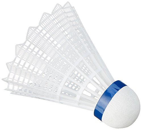 VICTOR Badminton Ball Shuttle 3000 - Medium - Weiß - 6er Pack