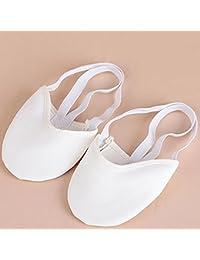 Originaltree da Donna a Mezze Dita Suola Scarpe Ballet Pointe Ginnastica  Ritmica Danza Pantofole Palm Manica 194e8a8015c