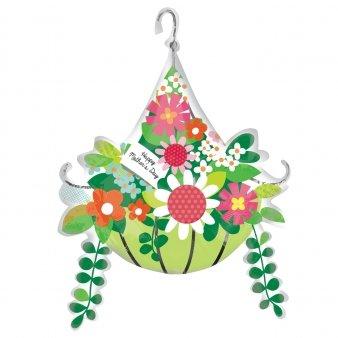 Amscan International 280890127x 79cm hängende Blumen Korb Super Shape Folienballon
