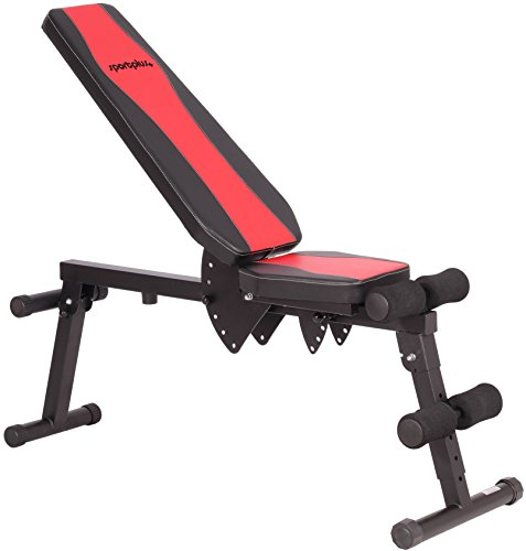 SportPlus Flat / Incline Workout Bench – Foldable