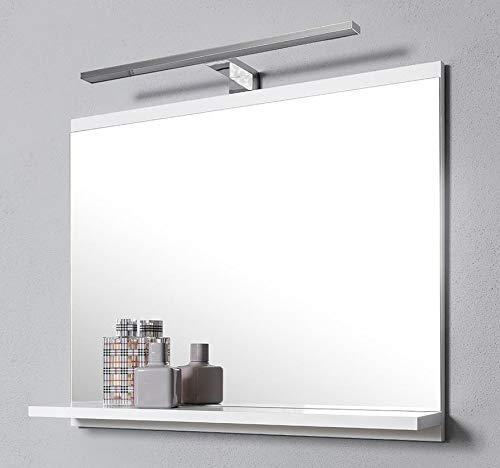 DOMTECH Espejo de baño estantes