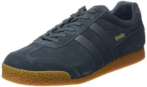 Gola Herren Harrier Suede Sneaker, Grau (GRAPHITE/GRAPHITE/GUM HG), Gr. 41