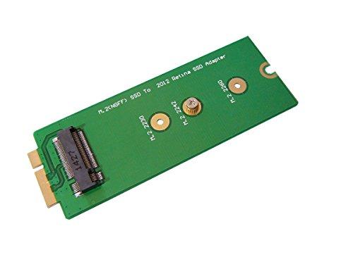 Kalea-Informatique-Adattatore per montare un SSD M.2(NGFF) su un Macbook Pro Retina A1398MC975MC976