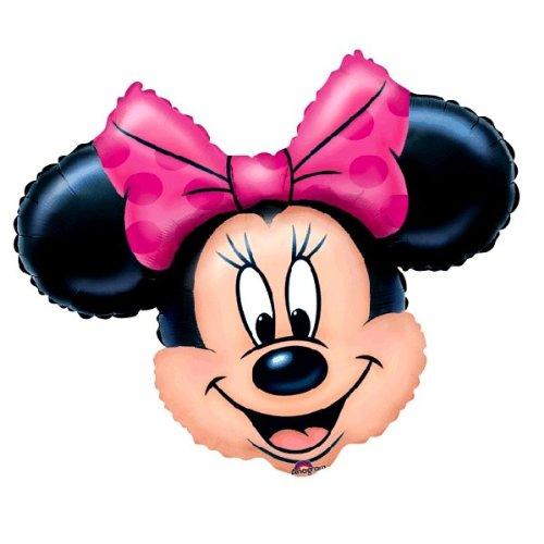 Amscan XL Globos Aluminio | 71 x 58 cm | Disney Minnie Mouse | Niños Fiesta Cumpleaños